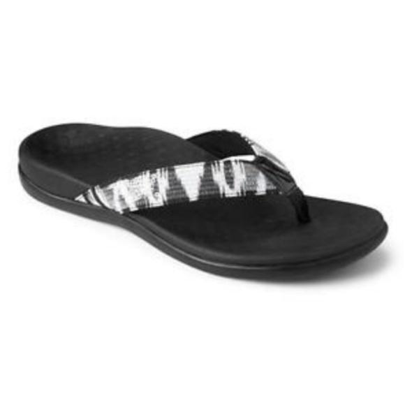 Women Vionic Tide Sequins Orthaheel Flip Flop 44TIDESQ Coral 100/% Authentic New